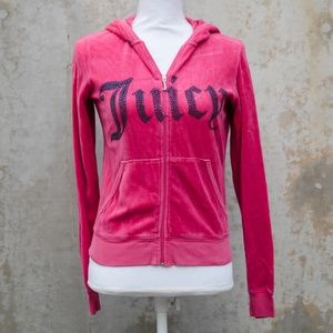 Juicy Couture Hot Pink Tracksuit Jacket